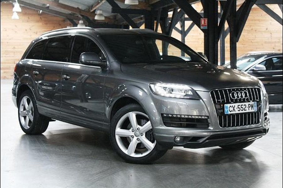 audi q7 3 0 tdi v6 245ch clean diesel 4x4 occasion 59 800 23 000 km vente de voiture d. Black Bedroom Furniture Sets. Home Design Ideas