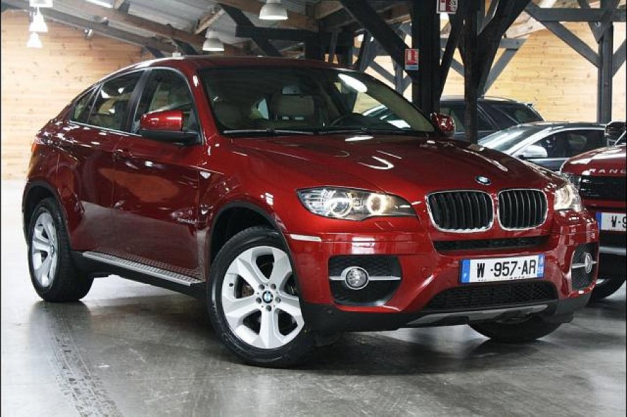bmw x6 e71 xdrive30d 235ch 4x4 bordeaux occasion 33 800 89 000 km vente de voiture d. Black Bedroom Furniture Sets. Home Design Ideas
