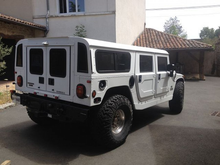 hummer h1 6 5l d v8 304ch 4x4 occasion 65 000 84 000 km vente de voiture d 39 occasion. Black Bedroom Furniture Sets. Home Design Ideas
