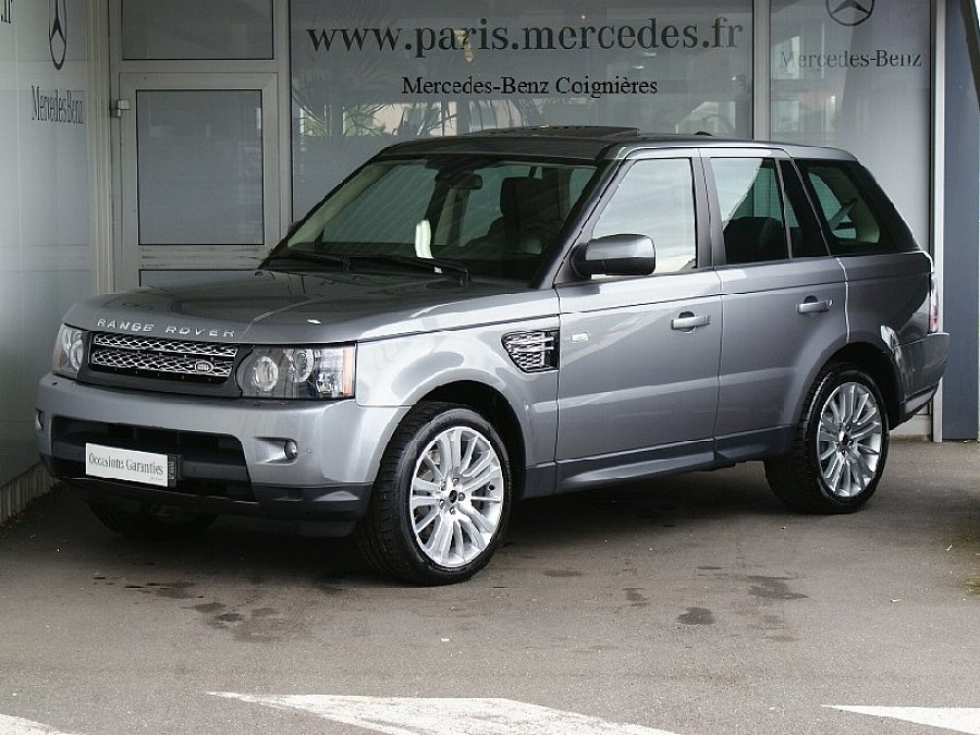 land rover range rover sport i sdv6 3 0l 256ch 4x4 gris occasion 41 900 77 525 km vente. Black Bedroom Furniture Sets. Home Design Ideas
